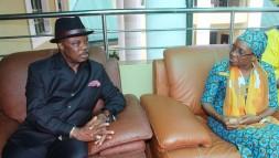 Obiano on Condolence visit