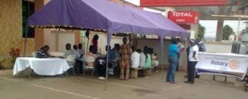 Rotary Club impact communities through health care