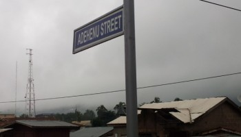 Street naming exercise ends in Volta Region