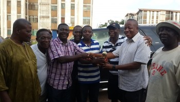 Abrah wins maiden Adenta Draught competition