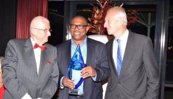 Ex Gov Obi Receives Award In Netherland