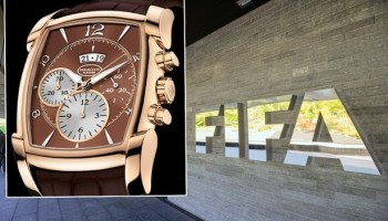 Platini insists he will not return a £16,000 watch