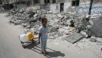 UN: Gaza War Leave Thousands Homeless