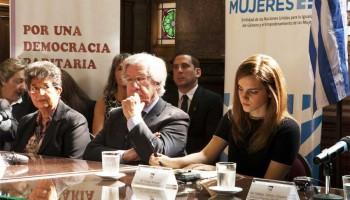Ambassador encourages women to participate in politics