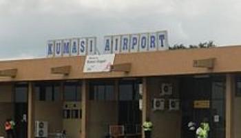 Kumasi Airport closed since October 17