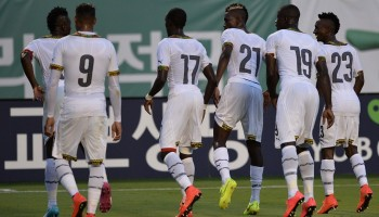 Ghana drops to 35th in new FIFA ranking