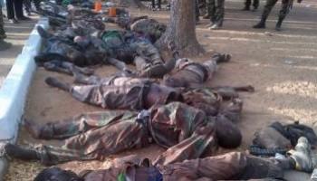 Boko Haram Members Killed Like Flies
