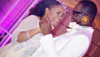 Kofi Okyere Darko And Ophelia's White Wedding