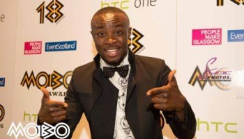 "MOBO 2014 Gives ""Best African Act"" Award Backstage"