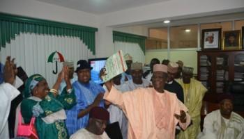 Senator Aziz Heads Straight For Kaduna With Nomination Form