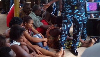 Anambra Police Command Parades Couple for Child Trafficking, Others