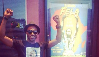 "D'Banj Goes To Watch The Documentary ""Finding Fela"""