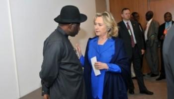 Goodluck Jonathan Stands Tall
