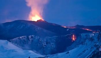Iceland authorities lowered aviation alert over lava eruption