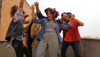 Six Iranians who were arrested after making a dance video