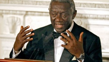 Kufuor Afraid of His Own Shadow?