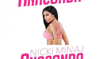Nicki Minaj's Anaconda Makes It To No.2