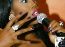 Tiwa Savage Without Her Wedding Ring At A Press Conference