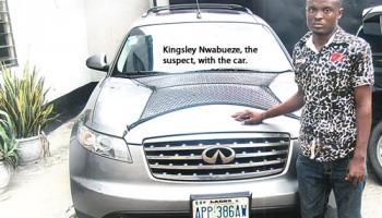 Man Drives Away His Employer's N6.5m Vehicle